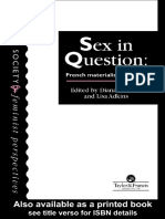 Sex in Question_ French Materialist Feminism