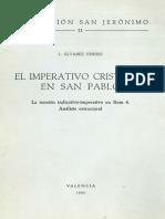 ÁLVAREZ VERDES, L., El Imperativo Cristiano en San Pablo, 1980