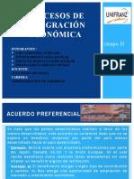 A.5. Procesos de Integración Económica