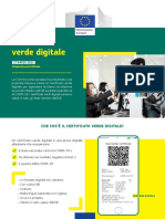 Il certificato verde digitale