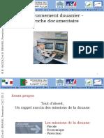 L'environnement douanier- approche documentaire2