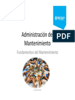 Administración del Mantenimiento 2020 1