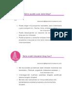 Cómo usar este Blog- Nola erabili dezaket blog hau
