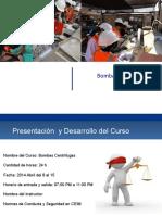 Presentación Bombas centrífugas Com MEL  oficialrev 1