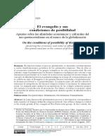 Algranti - 2015 - El Evangelio y Sus Condiciones de Posibilidad Apuntes Sobre Las Afinidades Económicas y Culturales Del Neo-pentecostal