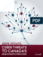 Tdp-2019-Report_Cyber Threats to Canada's Democracy