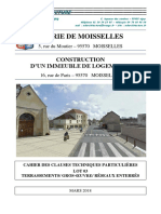 Construction d'un immeuble de logement