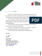 1. Surat Perkenalan Perusahaan PT. Alborg