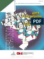 Revista CNTE_ Dossie Federalismo e Educação