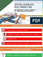 03.0 Requisitos Legales en Ppcc Para Tsa - [Resolucion 1409 de 2012 - Titulo 1 Capitulo 1 - Articulo 1 y 2 - Objeto Aplicación y Definiciones] v2