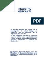 Presentacion Del Registro Mercantil