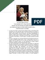 LE VOCE CHE DA TUTTO (Devoção a São José, Padroeiro do Concílio Vaticano II) - João XXIII