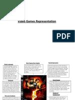 Video Games Representation
