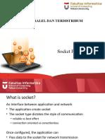 CII3D4 SisTerPar 05 Socket Programming