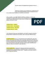 CLASSIFICAÇÃO DE RESIDUOS