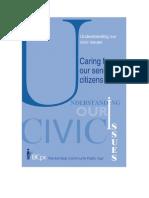 Understanding our Senior Citizens