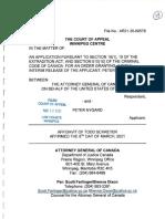 Todd Schreyer Affidavit