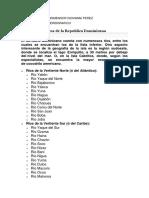 Recursos Hídricos de la Republica Dominicana