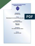 Metodología de La Enseñanza Del Karate, Judo y Taekwando.