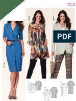 6945 Jacket- Shi̇rt Dress