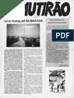 O-mutirao 3 Jul-Ago 1991
