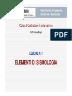 LCZS-01 - Elementi di sismologia