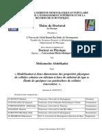 2017 Thèse Doctorat Mekemeche