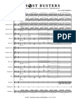 Ghost Busters Score+Parts