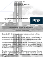 AULA 03 - O golpe civil-militar no Brasil