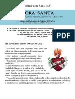Hora Santa Con San José