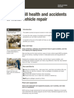 Reducing Ill Health and Accidents in Motor Vehicle Repair - InDG356(Rev1) (2009)