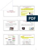 Testes Diagnósticos [Modo de Compatibilidade]
