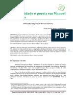 Racionalidade e poesia em Manoel de Barros