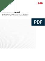 Manual de Aplicação EtherNet-IP Scanner-Adapter RW 6.08