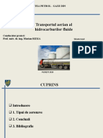 Prezentare transport aerian  hidrocarburi