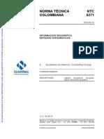 NTC6271 NORMA ICONTEC  ESTUDIOS TOPOGRAFICOS