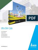 Ultra Slim DLP Video Wall Cube Brochure 5-7-2013