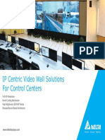 Standard DLP Video Wall Cube Brochure 5-7-2013