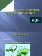 MANAGEMENTUL HEPATITEI VIRALE B