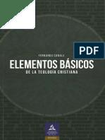 Canale, Elementos básicos 1-7