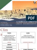 Seminário Ambiências Urbanas