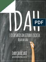TDAH - Os Desafios Da Leitura e Escrita