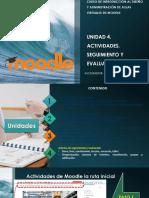 Curso de Introducción Al Diseño y Administración de Aulas Virtuales Moodle Unidad 4
