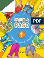 Pasito a Paso _ Con Ganas de Aprender 1 _ Prácticas Del Lenguaje _ Matemática.