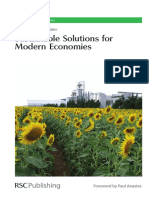 (RSC green chemistry series, 4) Rainer Höfer - Sustainable solutions for modern economies-Royal Society of Chemistry (2009)