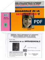 Desarrollo de la inteligencia 1. PROMOLIBRO