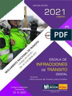 ESCALA  INFRACCIONES 2021