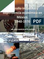 Desarrollo industrial y dependencia economica