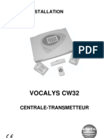 Guide installation Vocalys CW32