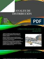 EXPOSICION CANALES DE DISTRIBUCIÓN presentacion